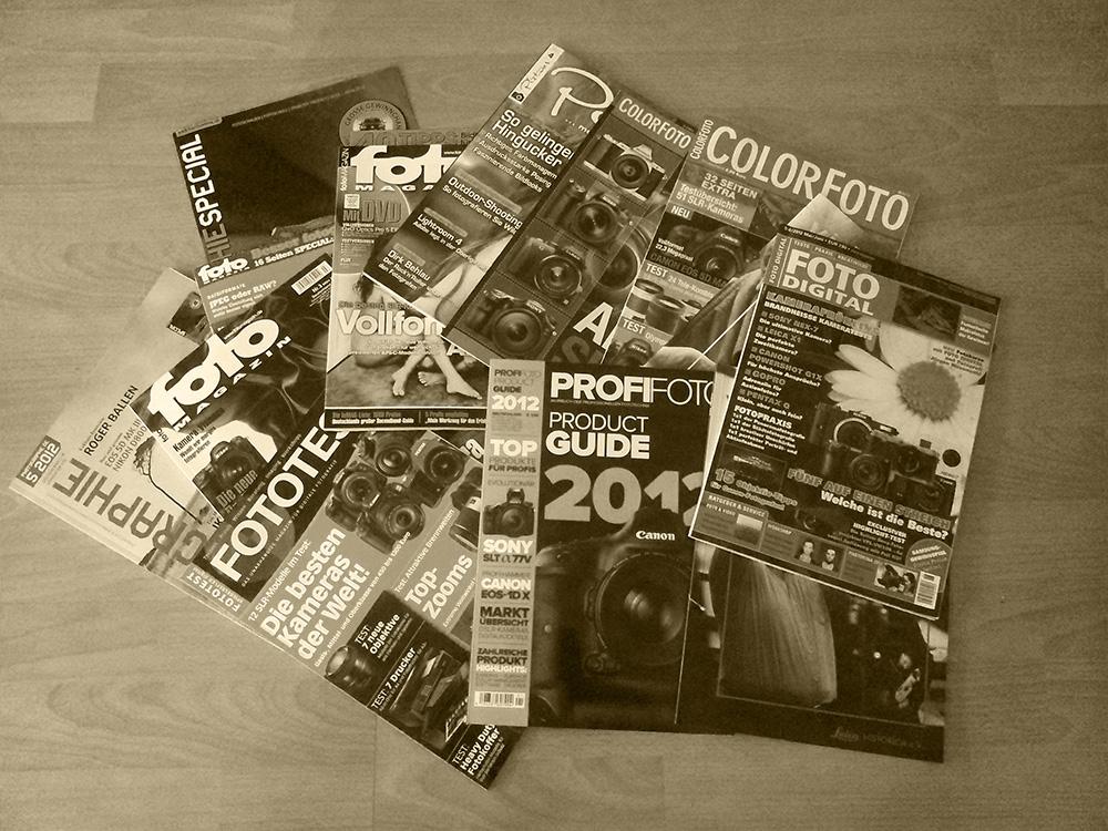 Fotomagazine für einen guten Zweck