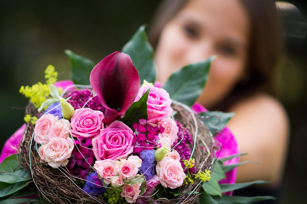 Bokeh-Delicious - oder auch: Die stolze an gehende Floristin