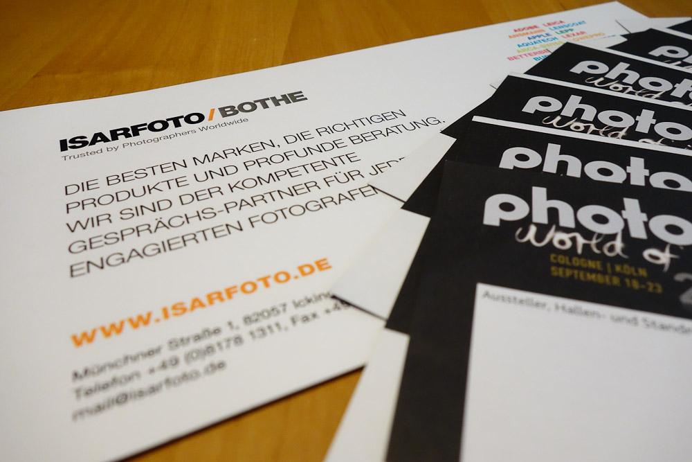 freier Eintritt zur Photokina 2012