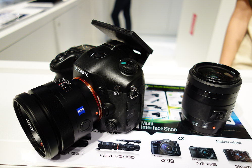 Sony A99 - Photokina 2012