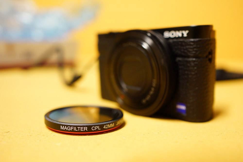 MagFilter CPL - Polfilter an Sony RX100
