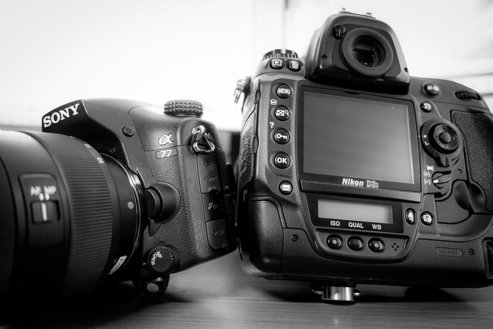 Sony SLT vs. Nikon DSLR