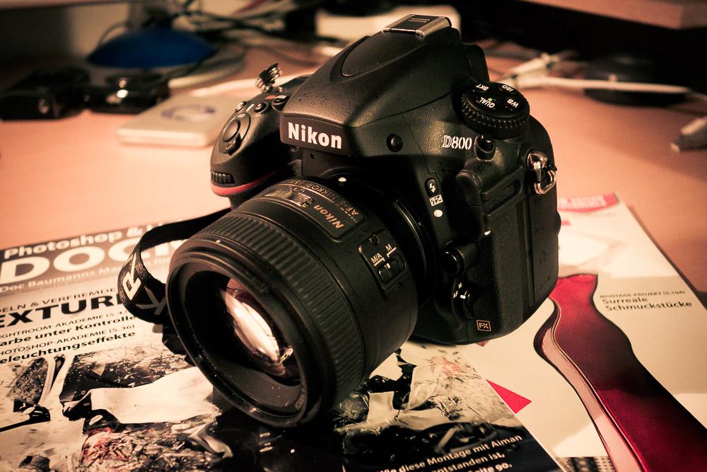 Best of 2012 Produkte – Kategorie Kamera: Nikon D800