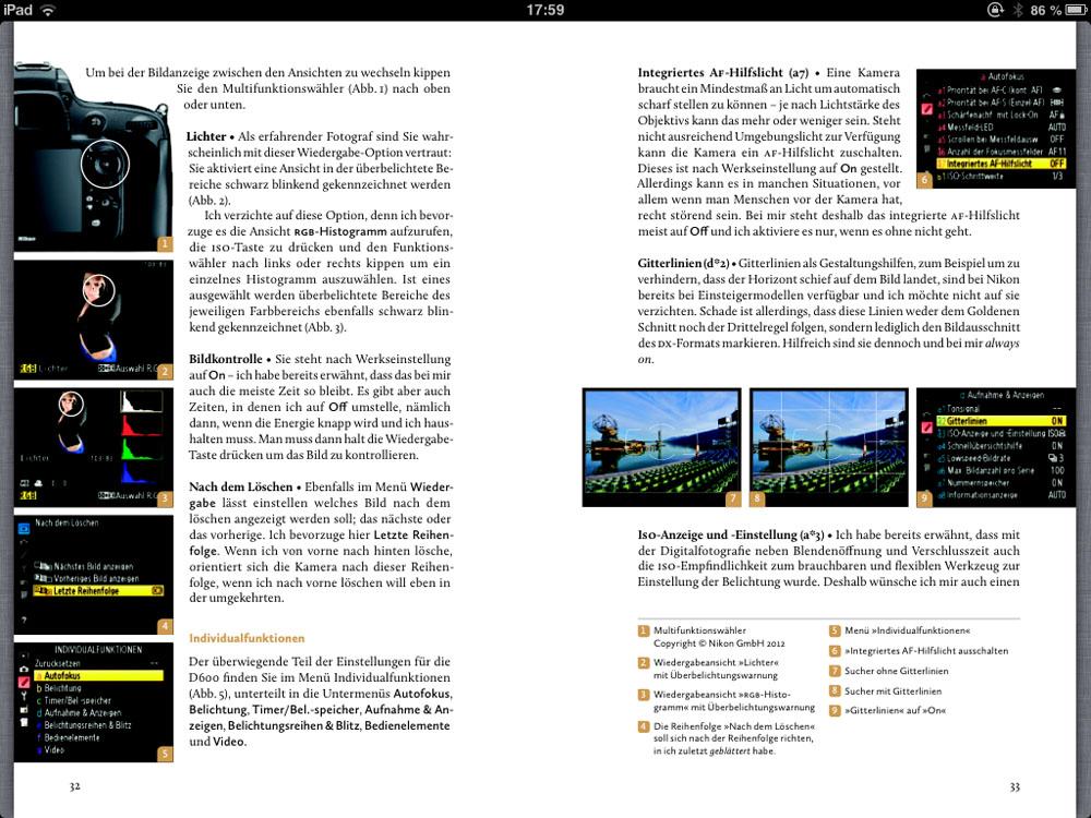 Nikon D600 Buch Markus Wäger