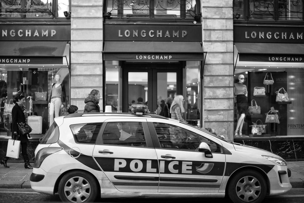 Polizei Longchamp