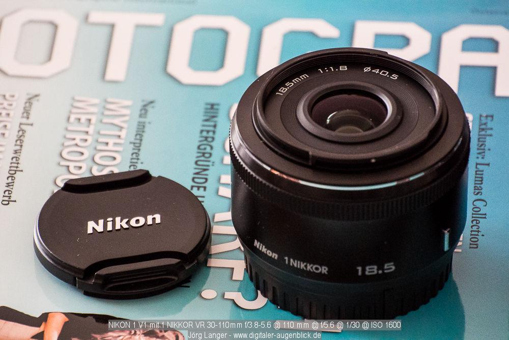 Nikon 1 18.5 1.8