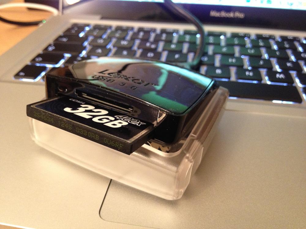 Lexar Dual Slot Reader USB3