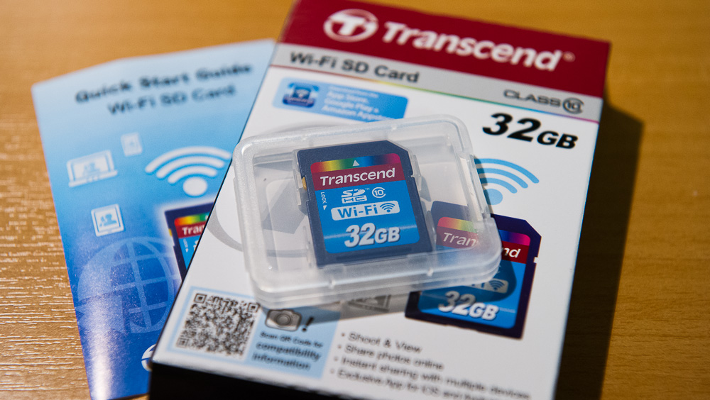 Transcend 32GB WiFi SD Card