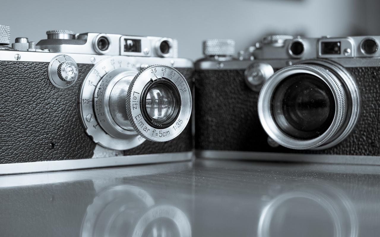 Leica III und Leica IIIa