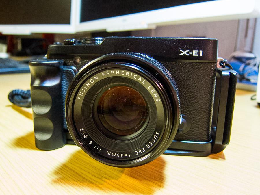iShoot L-Winkel - Fuji X-E1