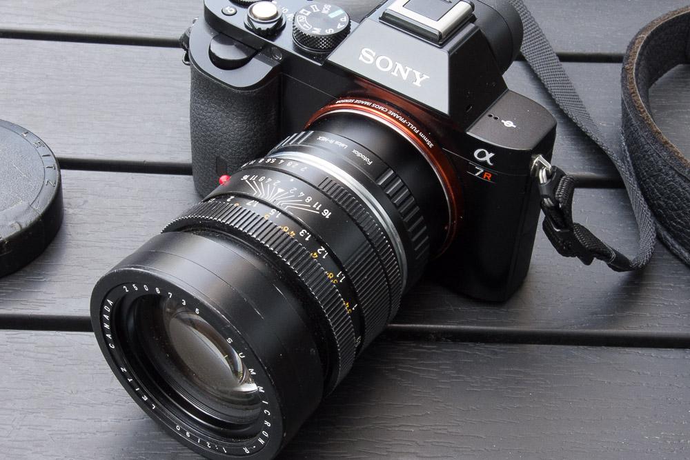 Leica Summicron-R 90 - Sony A7R