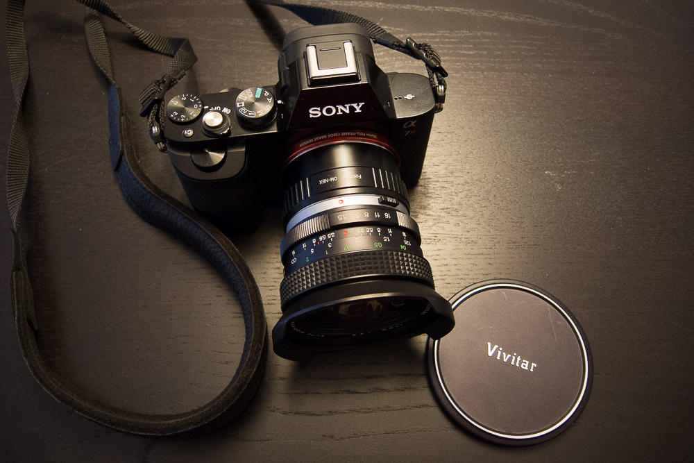 Sony A7R Vivitar 17mm Altglas